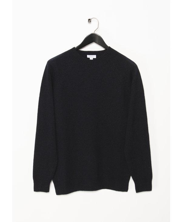 Navy Crewneck Sweater