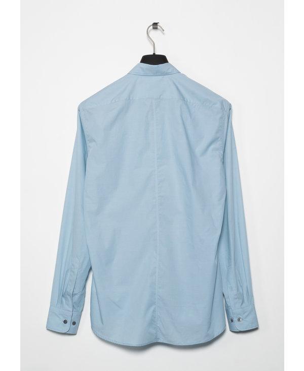 Chemise en Coton Bleue