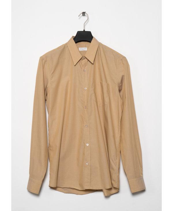 Beige Cotton Shirt