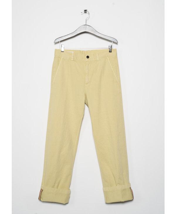 Pantalon Droit  Paille