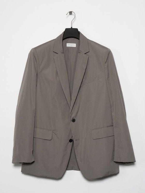 Dries Van Noten Grey Lined Blazer