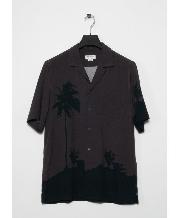Grey Len Lye Edition Graphic Short Sleeve Shirt
