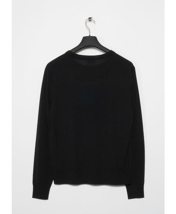Black Merino Sweater