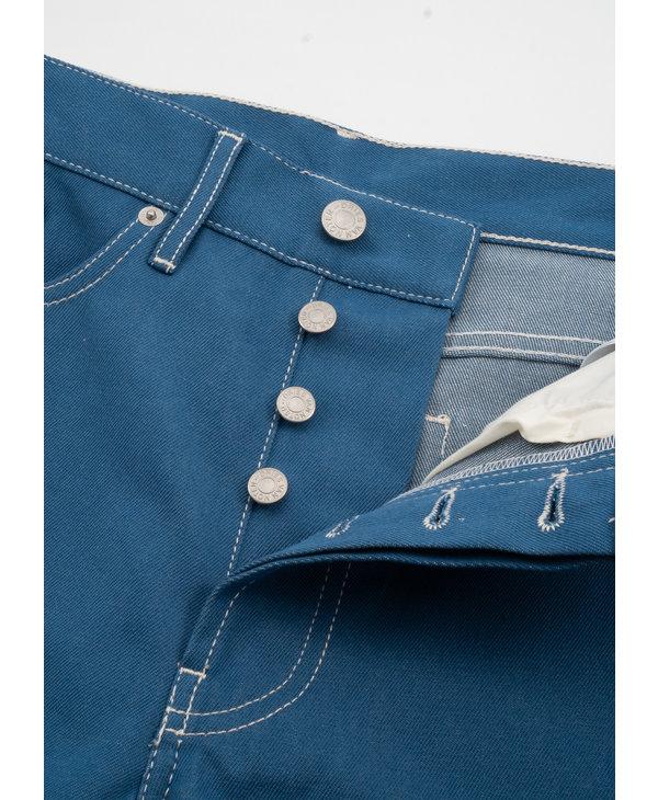 Pantalon Droit en Denim