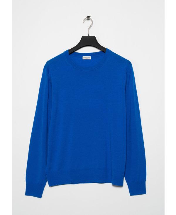 Blue Merino Sweater