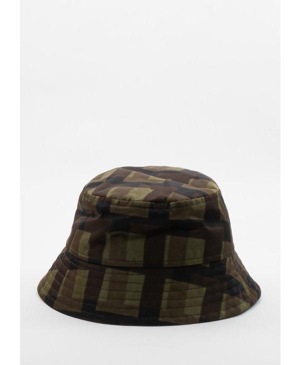 Khaki Len Lye Edition Graphic Nylon Bucket Hat