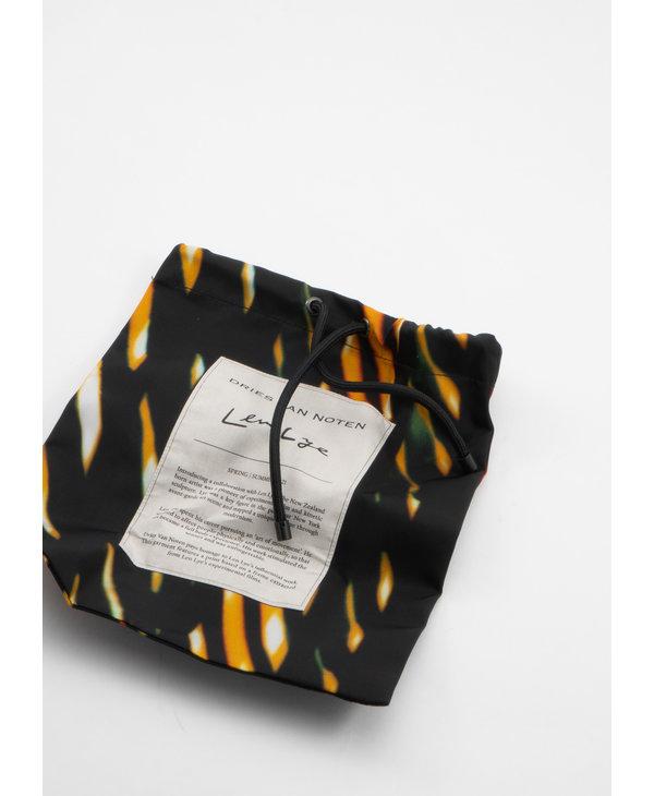 Chapeau Graphique en Nylon Édition Len Lye Multicolor