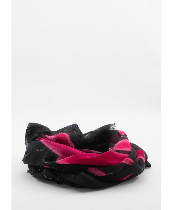 Black & Pink Len Lye Edition Flames Scarf