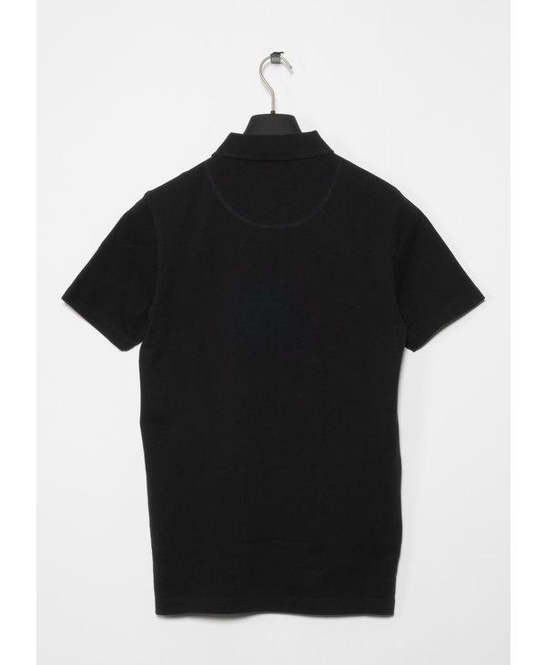 Black Riviera Polo Shirt