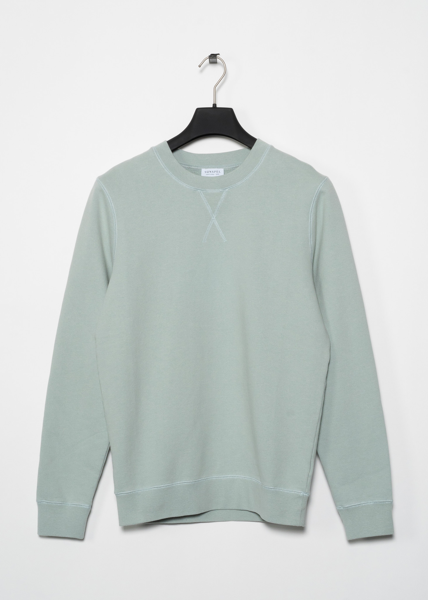 Mint Cotton Loopback Sweater