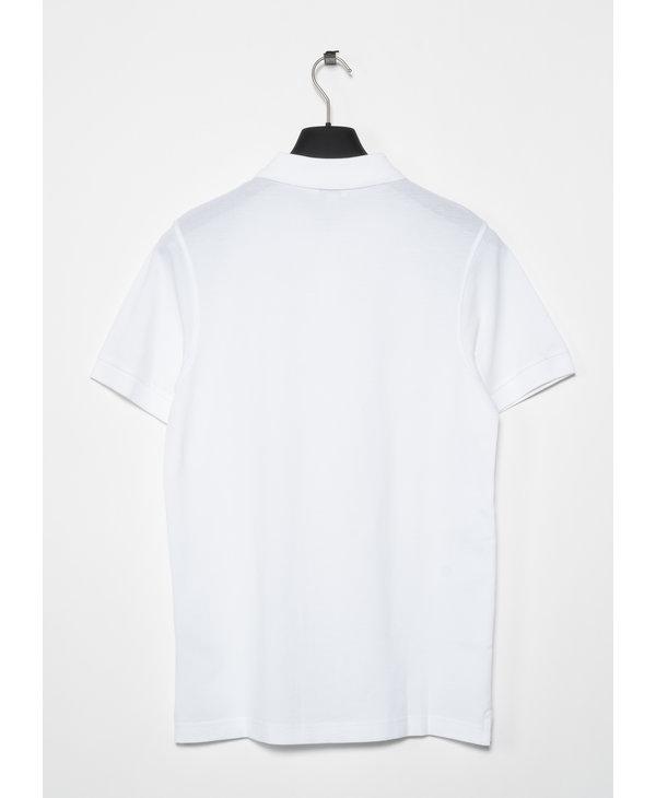 Polo Piqué Blanc