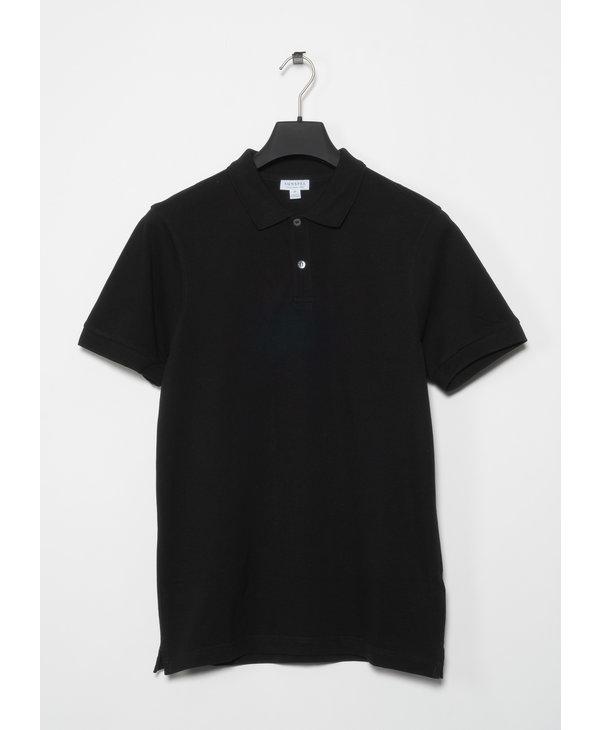Polo Piqué Noir