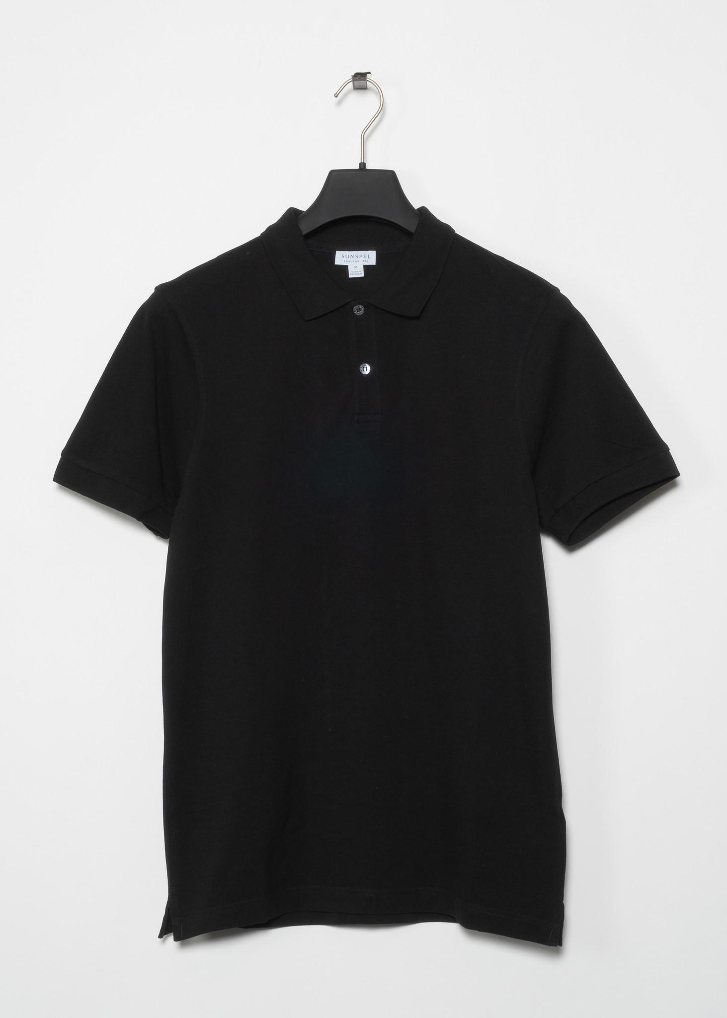 Polo Pique Noir