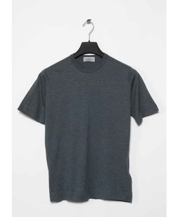 Charcoal Lorca Welted Tee