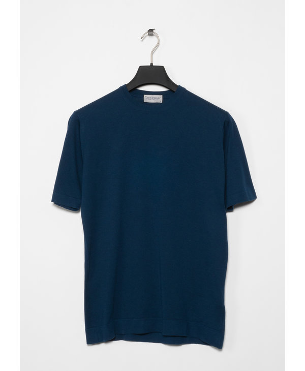 Blue Lorca Welted Tee