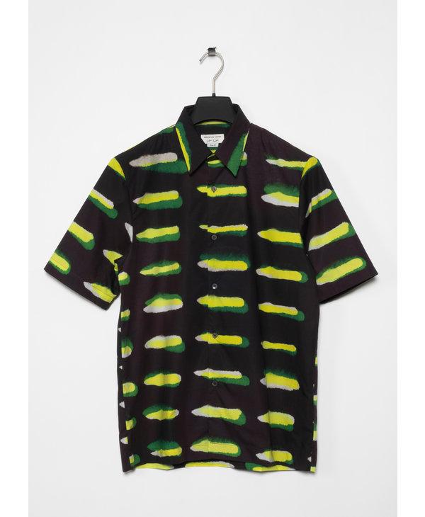 Chemise à Imprimé Noire