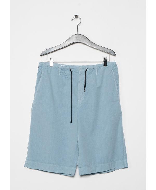 Light Blue Straight Short