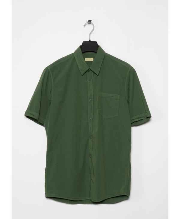 Green Cotton Shirt