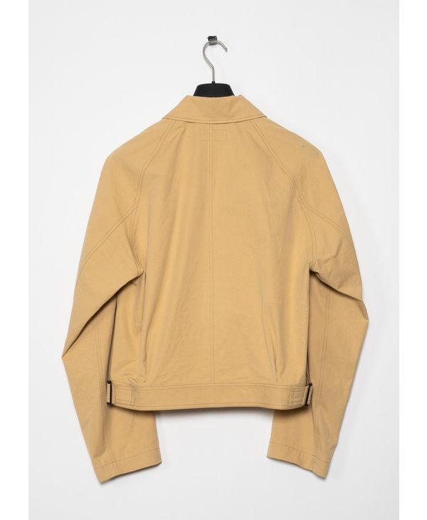 Beige Military Jacket