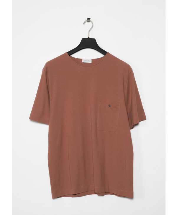 Sand Jersey Crepe Chinese T-Shirt