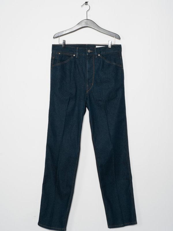 Lemaire Jeans Fuselé Bleu
