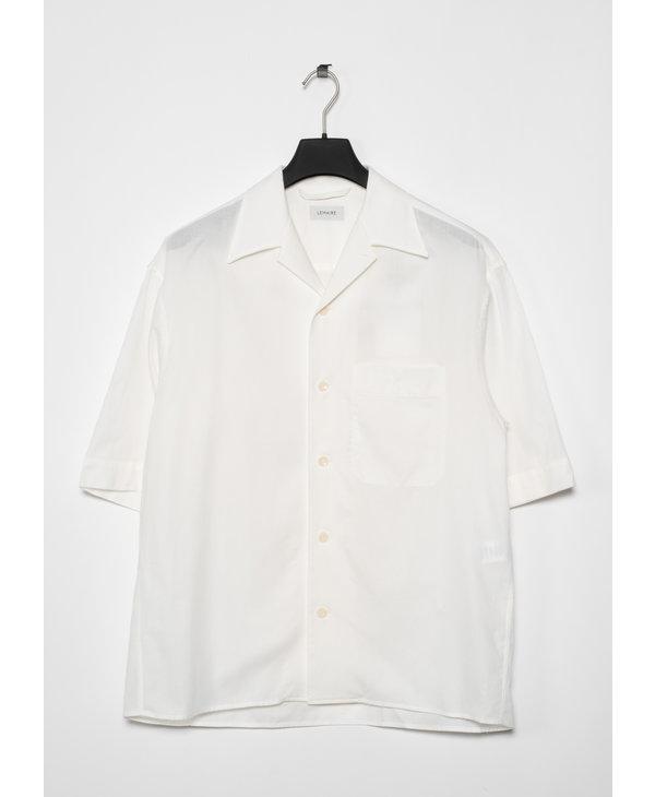 Chemise à Manches Courtes Blanche
