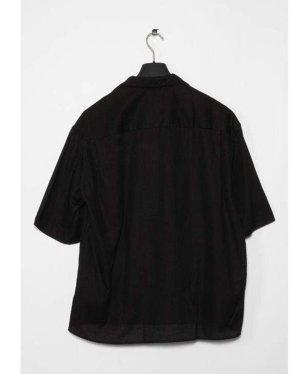 Chemise à Manches Courtes Noir