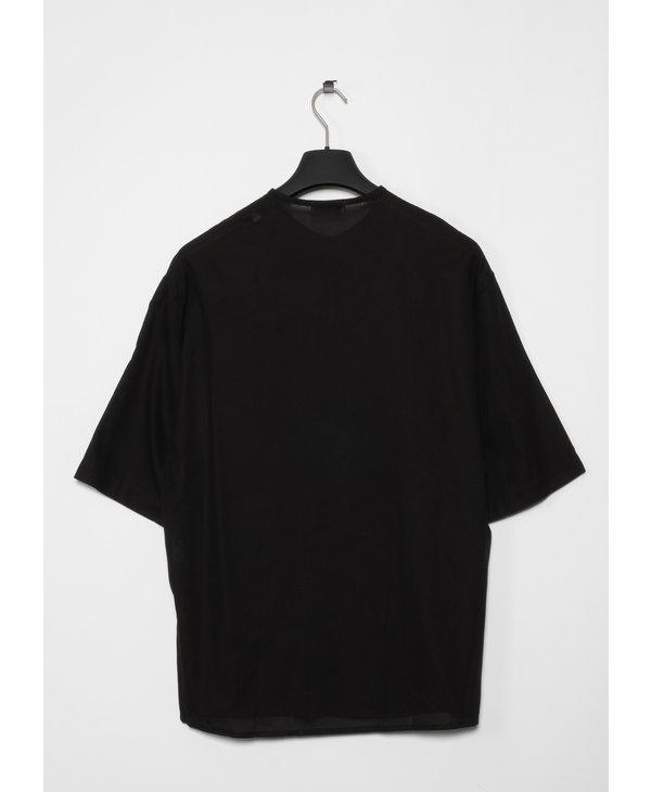 T-Shirt Henley Noir