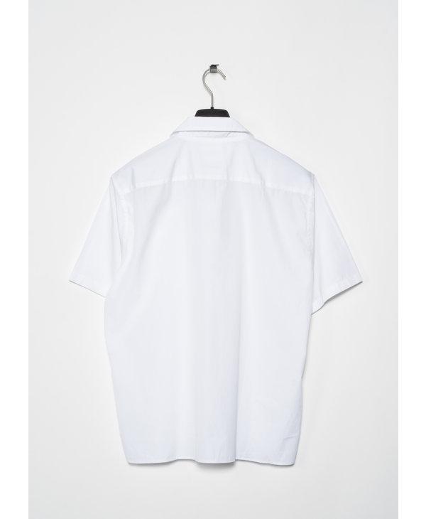 White Carsten Short Sleeves Shirt