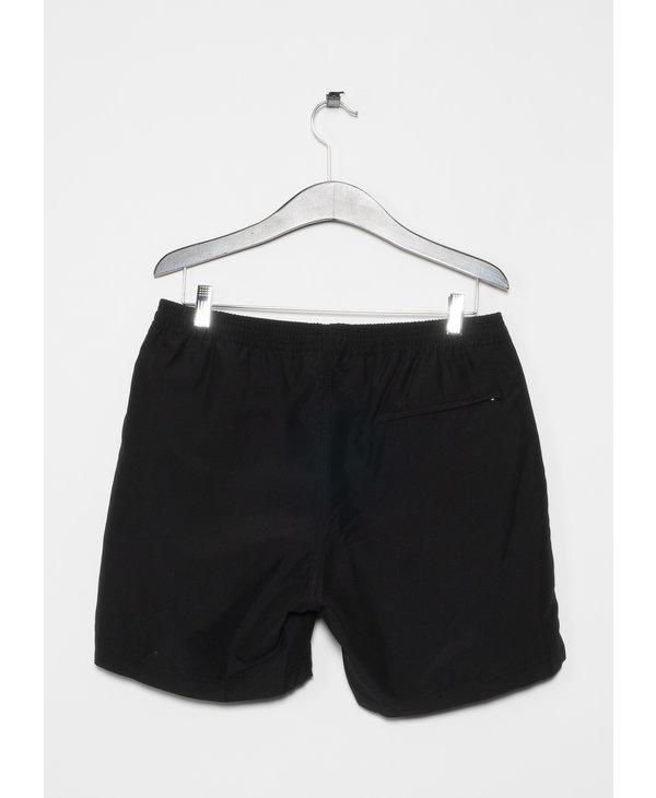 Black Upcycled Marine Plastic Swim Short