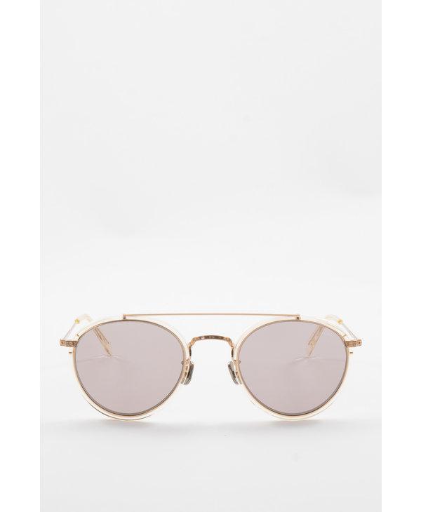 Transparent & Gold 762(52) Sunglasses