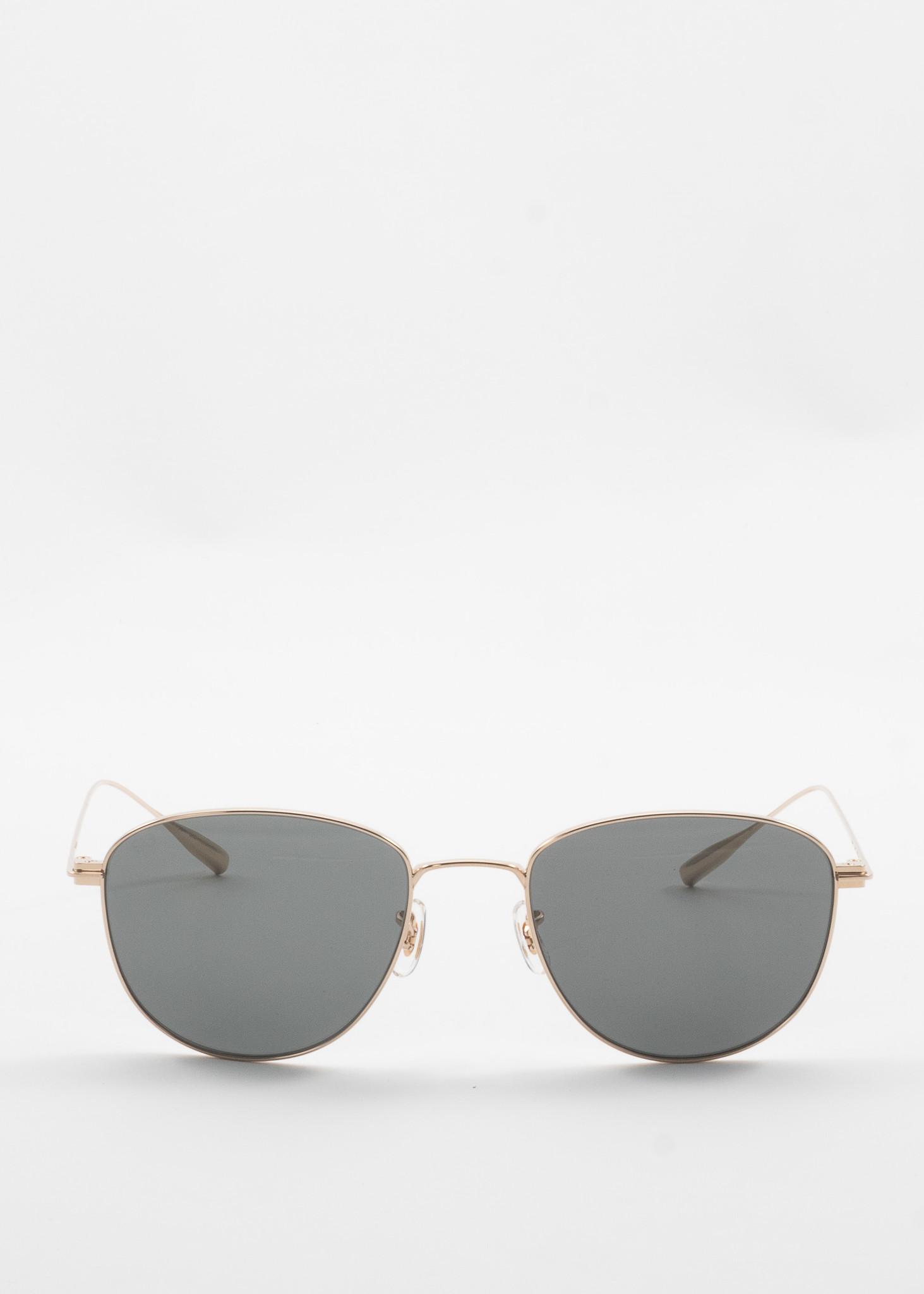 Gold Marti Sunglasses