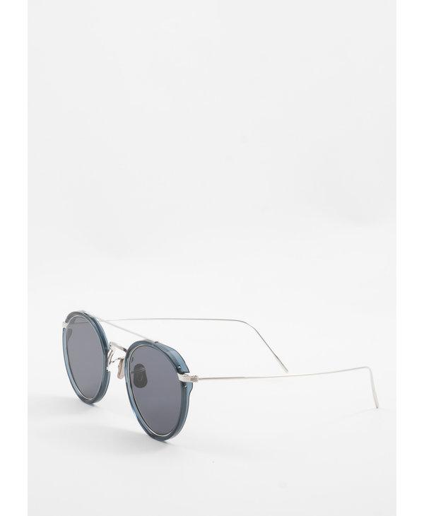 Blue & Silver 762 Sunglasses