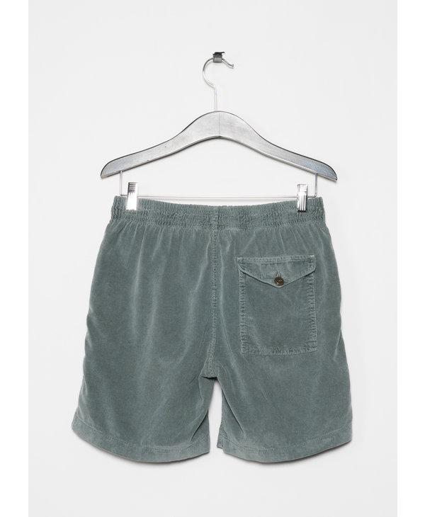 Shorts Easy en Velours côtelé Sauge