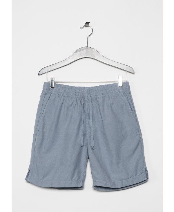Blue Stripe Easy Shorts