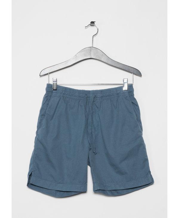 Blue Light Twill Easy Shorts