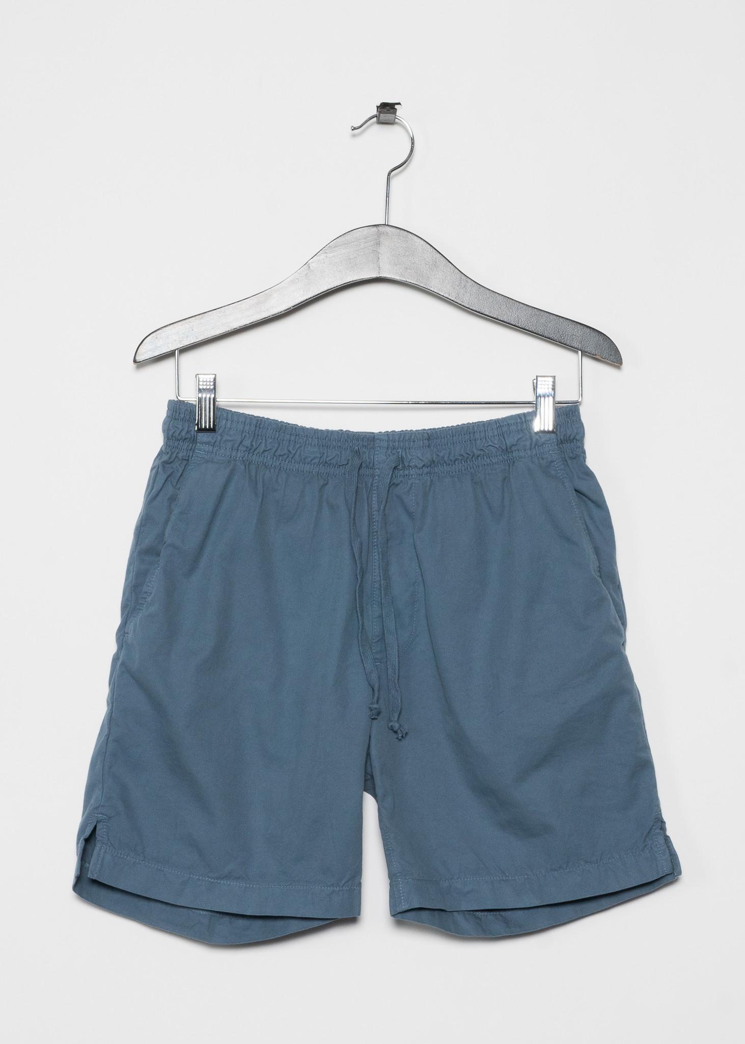 Shorts Easy en Sergé Léger Bleu
