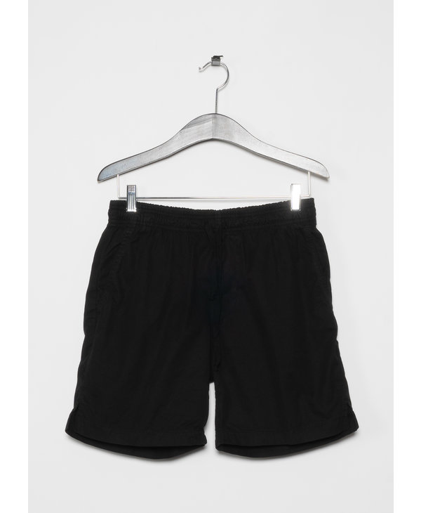 Shorts Easy en Sergé Léger Noir