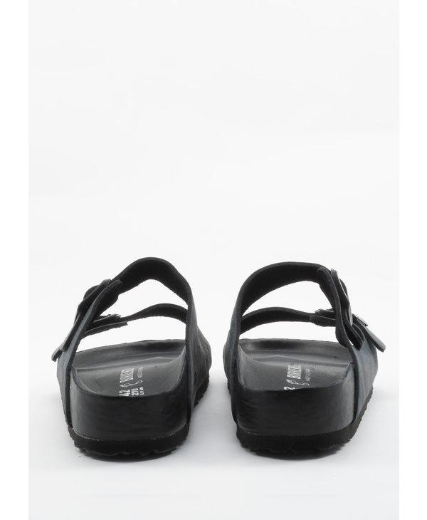 Sandales Arizona en Cuir Noir