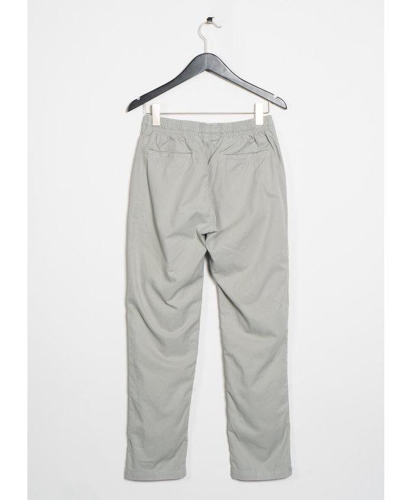 Pantalon Easy Chino en Sergé Gris