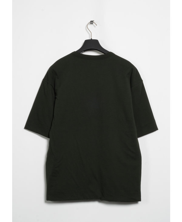 Green Double Layer Padded T-Shirt