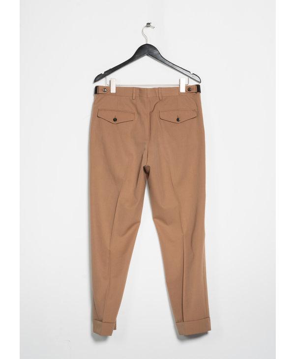 Camel Cuffed Trousers
