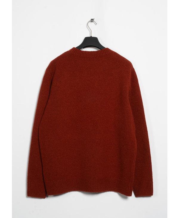 Brick Crew Neck Sweater