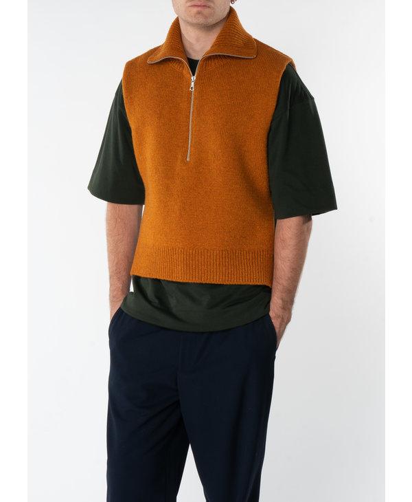 Orange Front Zipped Tabard