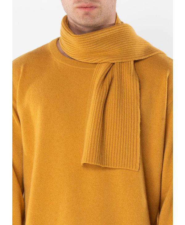Yellow Skinny Cashmere Scarf
