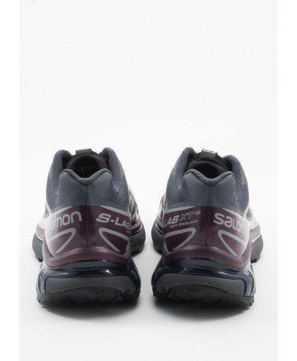 Dark Grey and Purple  XT-6  Advanced Sneakers