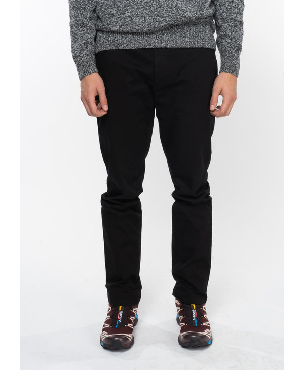 Pantalon Aros Slim Stretch Léger  Noir