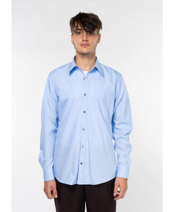 Chemise à Manches Longues Bleue