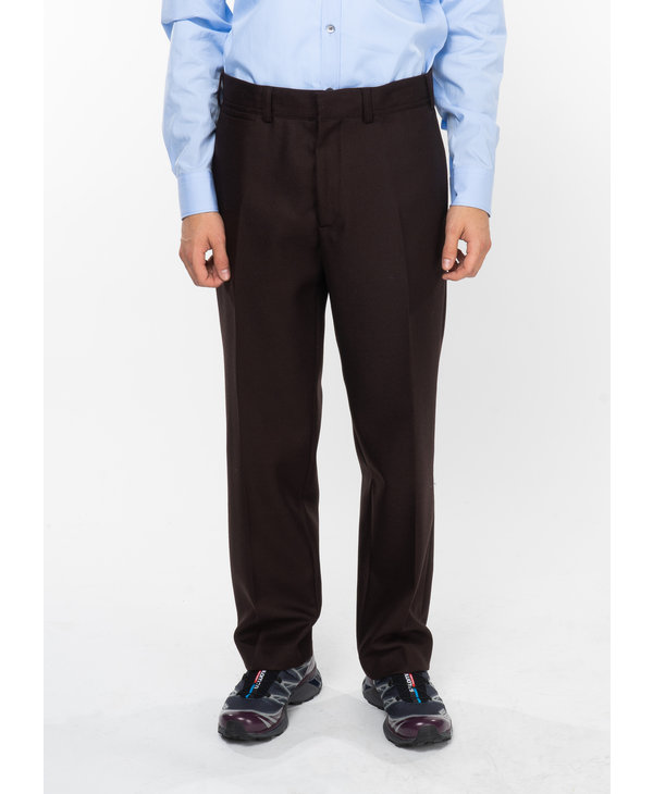 Dark Brown Trousers