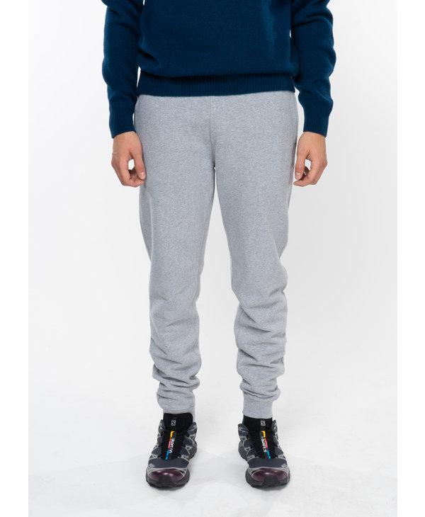 Grey Cotton Loopback Sweatpants